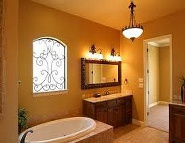 Bathroom Renovation - Custom Electrical Lighting